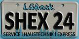 SHEX24 / ENTRÜMPELUNG / LÜBECK / HAUSHALTSAUFLÖSUNG / WOHNUNGSAUFLÖSUNG / NACHLASSVERWERTUNG / WERTANRECHNUNG Logo